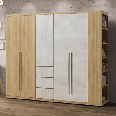 MUNA 芙洛琳7尺衣櫥/衣櫃(不含1尺開放衣櫃) 205X57X202cm