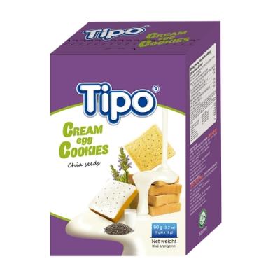 TIPO 雞蛋吐司餅-奇亞籽風味(90g)