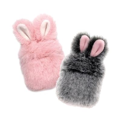 AirPods 1 2 保護套 絨毛兔耳 藍牙耳機保護套