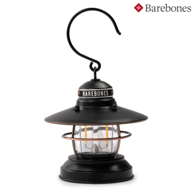 【Barebones】吊掛營燈 Mini Edison Lantern LIV-273 霧黑