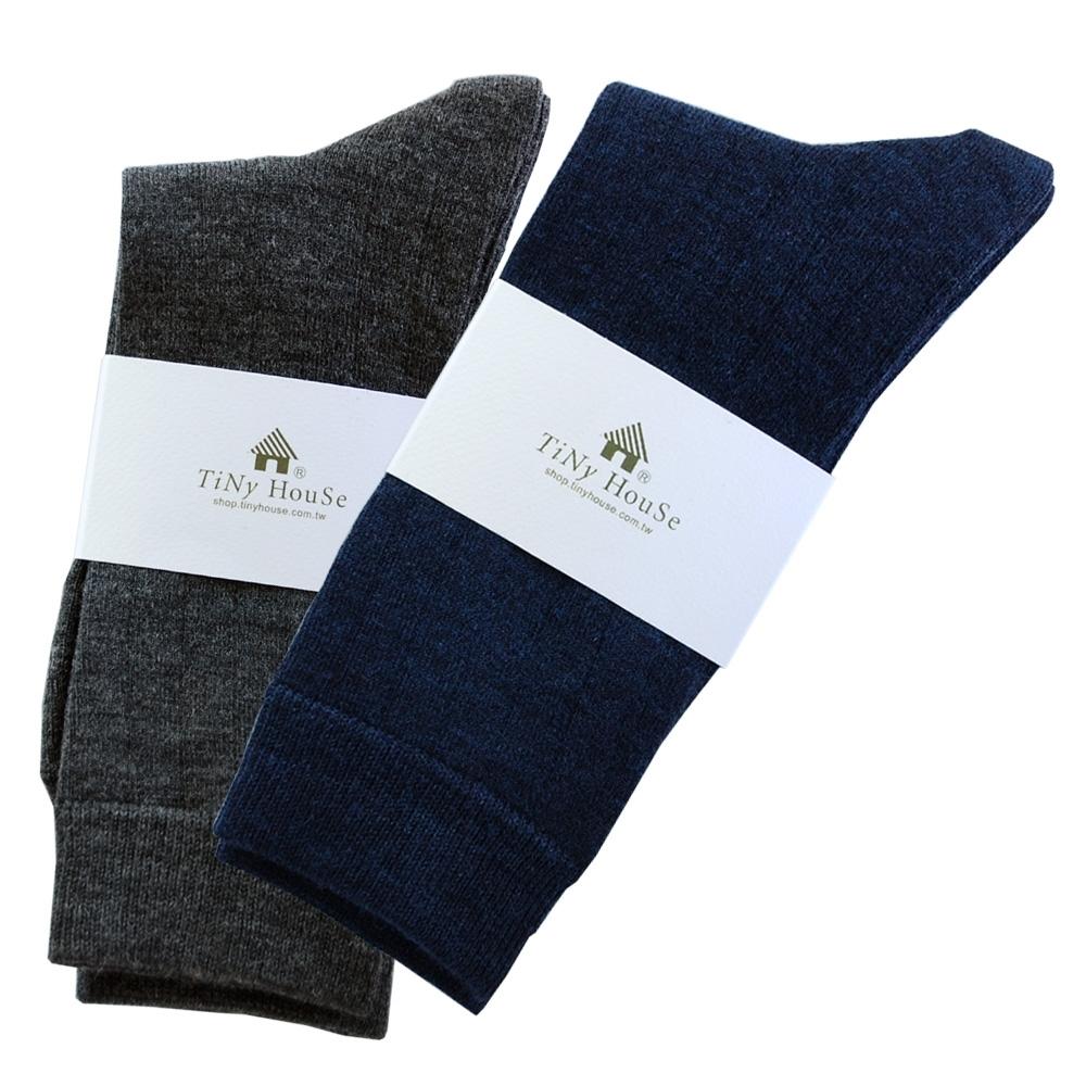 TiNyHouSe T-610/601超細輕薄保暖襪羊毛襪-中筒輕薄款(男用2雙組)