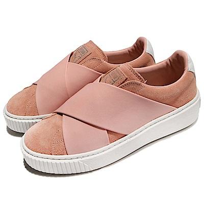 Puma 休閒鞋 Platform X 低筒 運動 女鞋