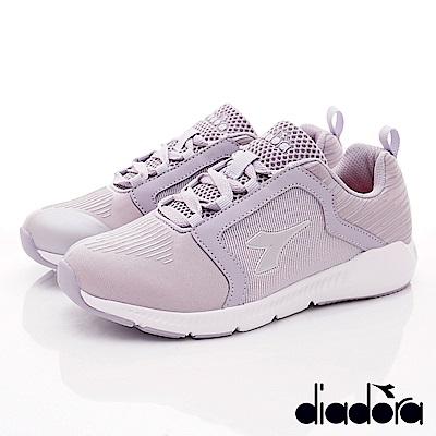 DIADORA-超輕韻律鞋款 YSE257灰紫(女段)