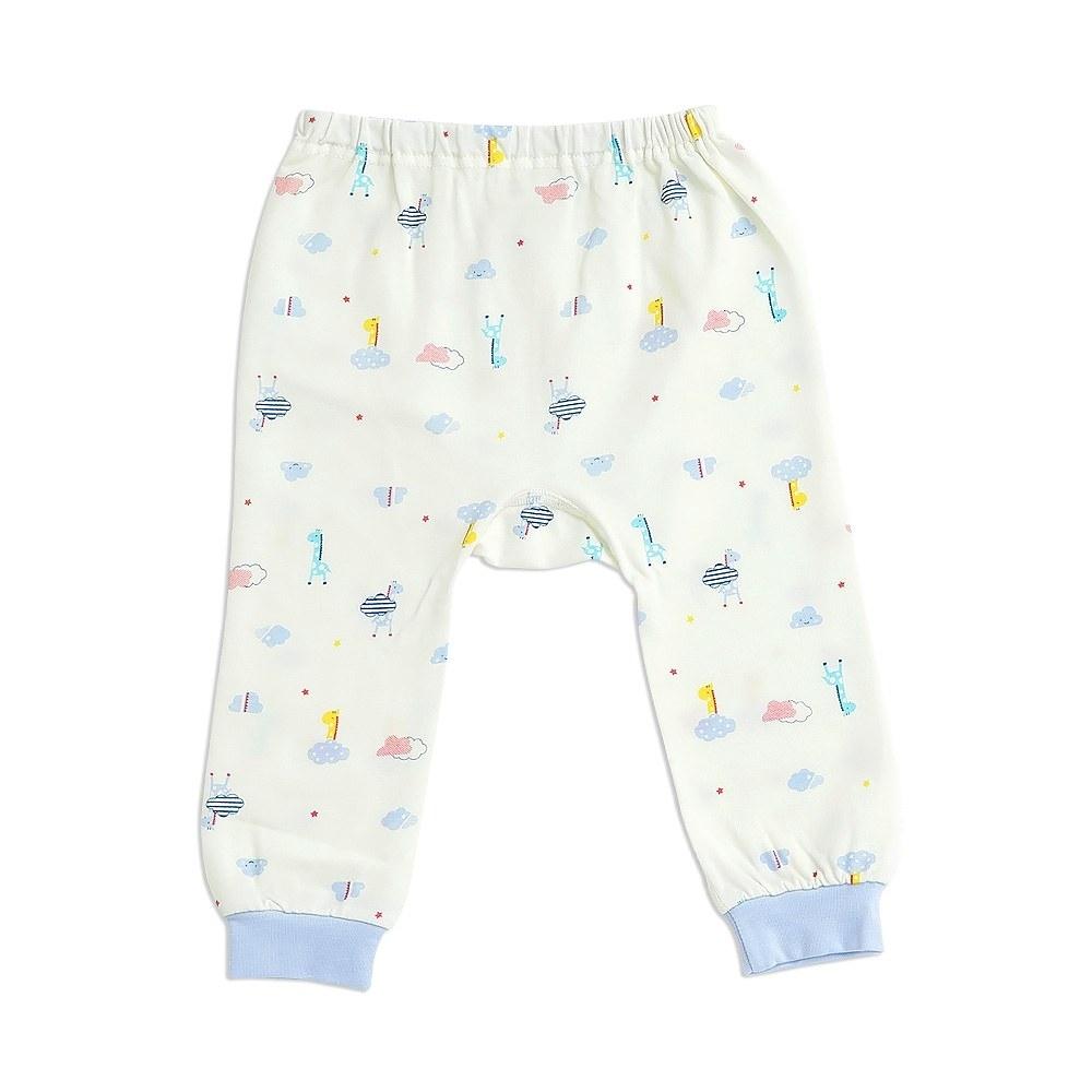 奇哥 長頸鹿初生褲-羊毛保暖布 3-6個月 (2色選擇)