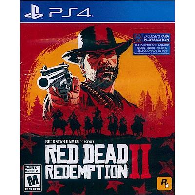 碧血狂殺 2 Red Dead Redemption 2  -PS4 中英文美版(拉丁)