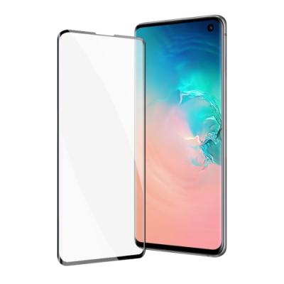 三星 Galaxy S10e 曲面全膠貼合 9H鋼化玻璃膜 手機 保護貼 曲面黑x1 ( S10e保護貼 )