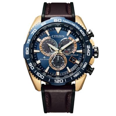 CITIZEN星辰PROMASTER準確時刻電波光動能腕錶CB5039-11L