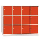 文創集 海卡森環保5.6尺塑鋼12門收納櫃-168.5x42x133.5cm免組