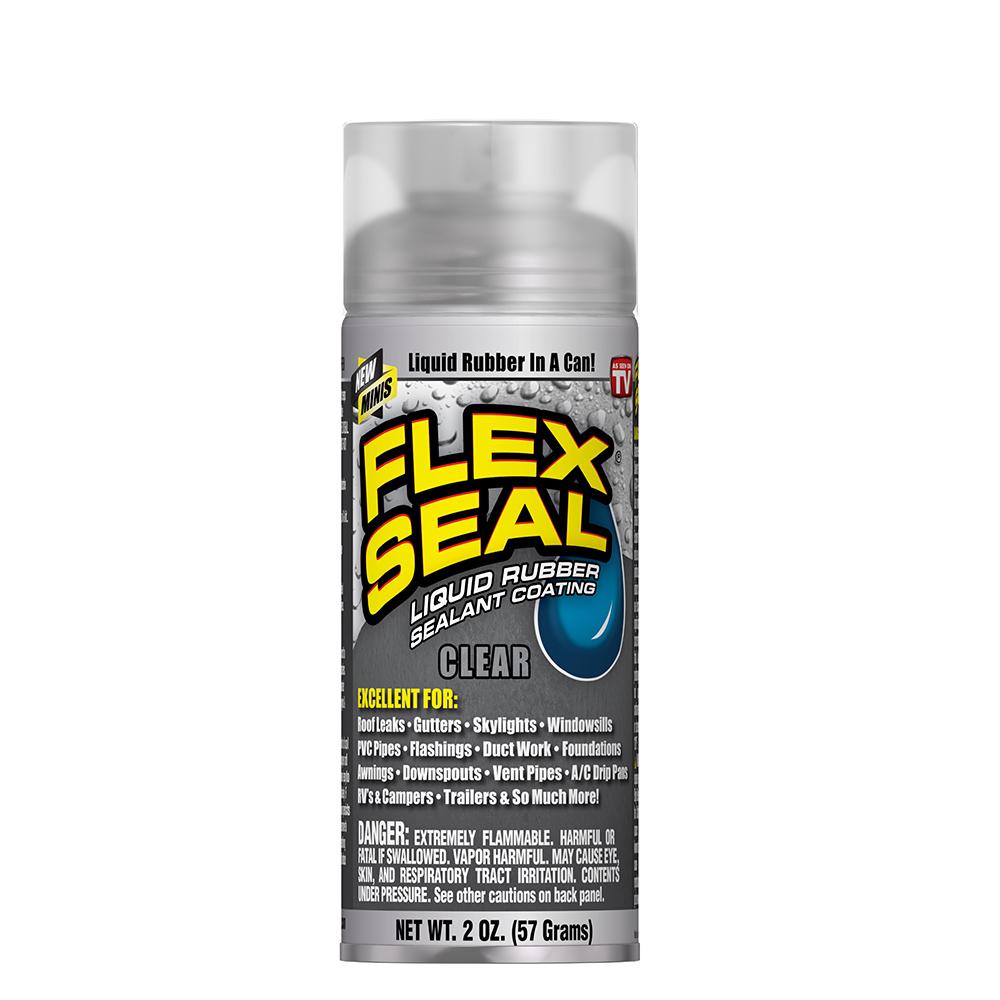 美國FLEX SEAL 萬用止漏劑 迷你- 透明色(噴劑型)