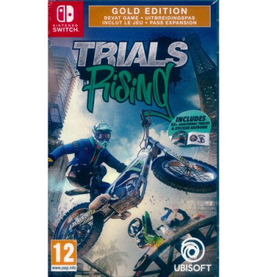 特技摩托賽:崛起 黃金版 Trials Rising Gold Edition - NS Switch 中英日文歐版