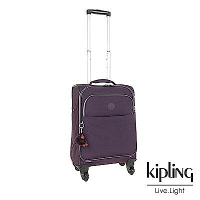 Kipling 時尚輕旅行李箱21吋 深紫素面-大