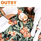 【OUTSY嚴選】獨家花布系列輕量野餐墊/地墊/沙灘墊