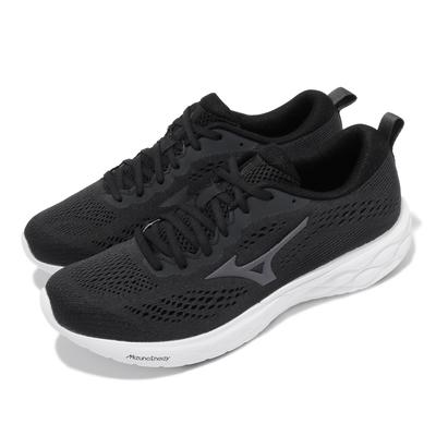 Mizuno 慢跑鞋 Wave Revolt 2 男鞋 美津濃 路跑 緩震 輕量 透氣 基本款 灰 白 J1GC218113