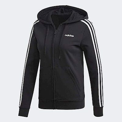 adidas 外套 ESS 3 Stripe Full Zip 女款