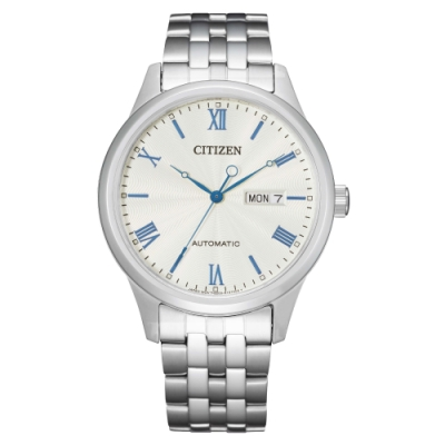 CITIZEN 星辰Mechanical簡約質感機械腕錶NH7501-85A