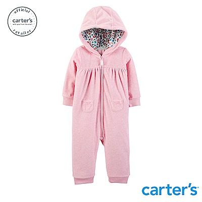 Carter's 浪漫粉色系連身裝