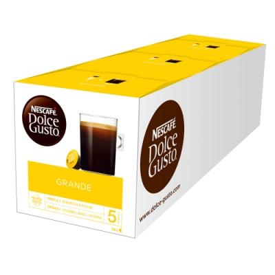 [時時樂限定]雀巢咖啡 DOLCE GUSTO 咖啡膠囊-美式醇郁/咖啡歐蕾/拿鐵咖啡