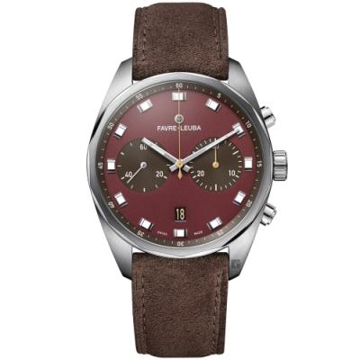 Favre-Leuba 域峰錶 Sky Chief Chronograph 雙眼機械計時手錶(00.10202.08.35.47)