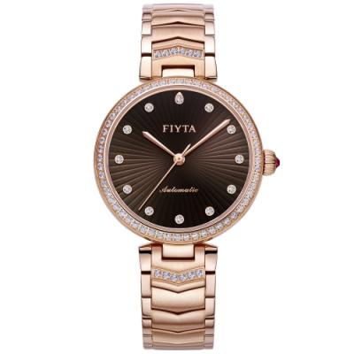FIYTA飛亞達 心弦系列機械錶LA869009.PKPH)-玫瑰金/32mm