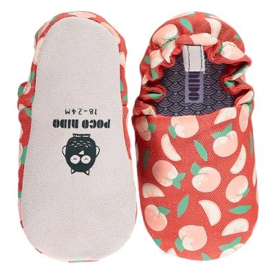 英國 POCONIDO 手工嬰兒鞋 (紅紅小蜜桃)