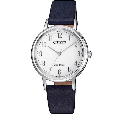 CITIZEN 星辰/LADS優雅氣質光動能腕錶/EM0571-16A