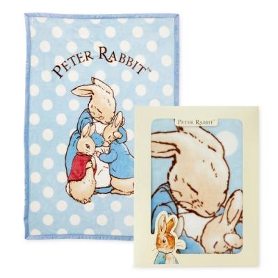 奇哥 親親比得兔幼兒毛毯/蓋被禮盒 100x140cm (2色選擇)