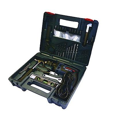 BOSCH 四分震動電鑽GSB 16 RE HT 工具組