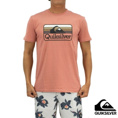 【QUIKSILVER】DREAMERS OF THE SHORE SS T恤 粉紅