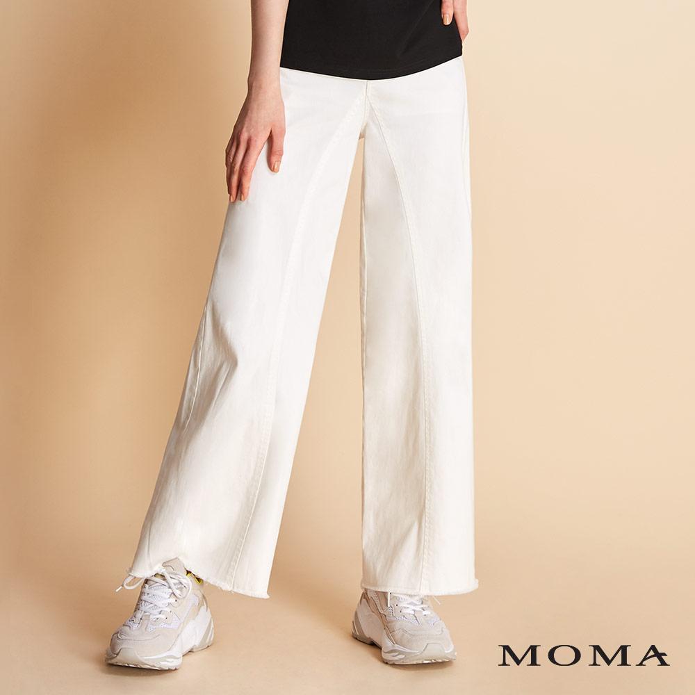 MOMA 純色喇叭寬褲