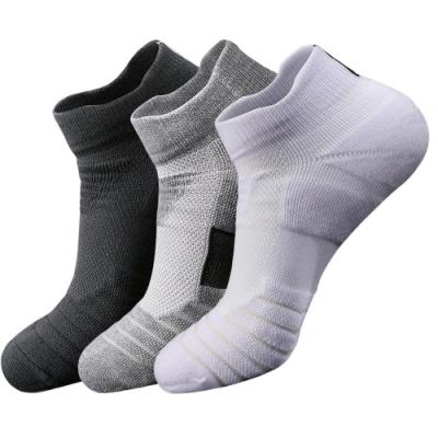 Maleroads 運動保暖短襪 透氣排汗 跑步 健身 戶外 運動襪 (3雙)