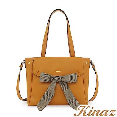 KINAZ 往昔時光兩用斜背托特包-安妮系列