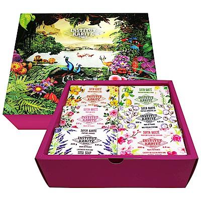 Institut Karite Paris巴黎乳油木花園香氛手工皂6入禮盒(200gx6)