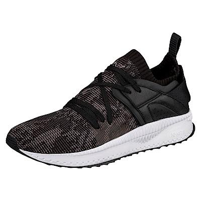 PUMA-TSUGI Blaze evoKNIT WF男女慢跑鞋-黑色