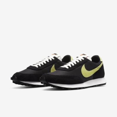 Nike 休閒鞋 DBreak SP 運動 男女鞋 經典款 舒適 簡約 情侶穿搭 麂皮 黑 黃 DA0824001
