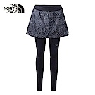 The North Face北面女款黑色保暖透氣緊身褲|3LK4JK3