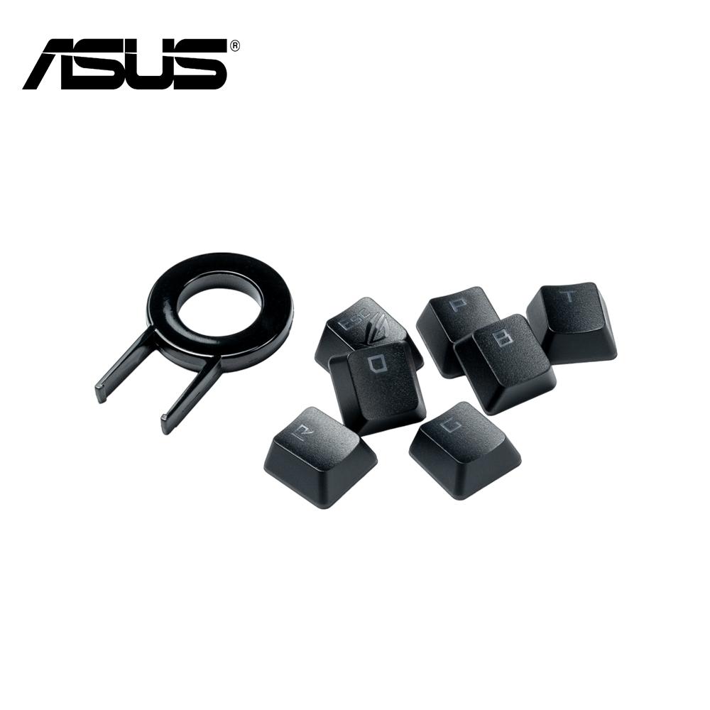 (英文版) ASUS 華碩 ROG PBT 雙色射出鍵帽組