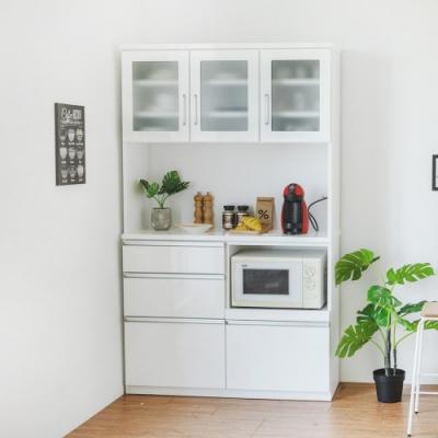 完美主義 無印風3.9尺廚房櫃/收納櫃(DIY)-120X42X200