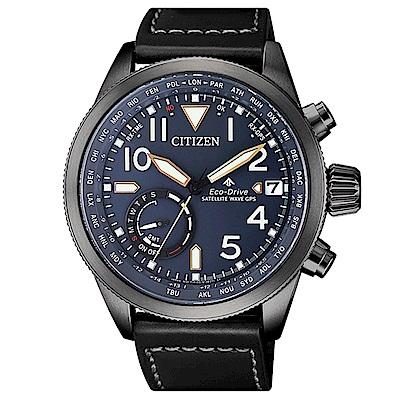 CITIZEN 星辰 PROMASTER GPS限量光動能腕錶CC3067-11L