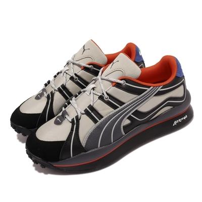 Puma 休閒鞋 Style Rider ATTEMPT 男鞋 海外限定 聯名款 當代藝術 麂皮 灰 黑 373519-01