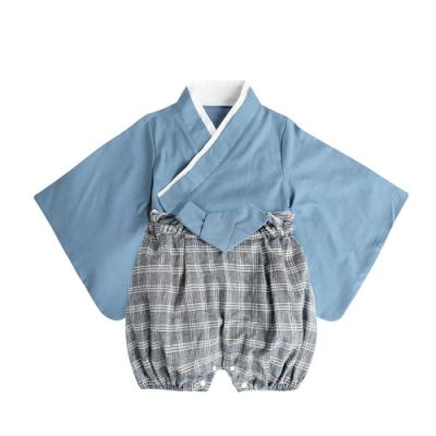 Baby童衣 男童 女童 二件式日本和服套裝 cosplay套裝 萬聖節變裝 12002