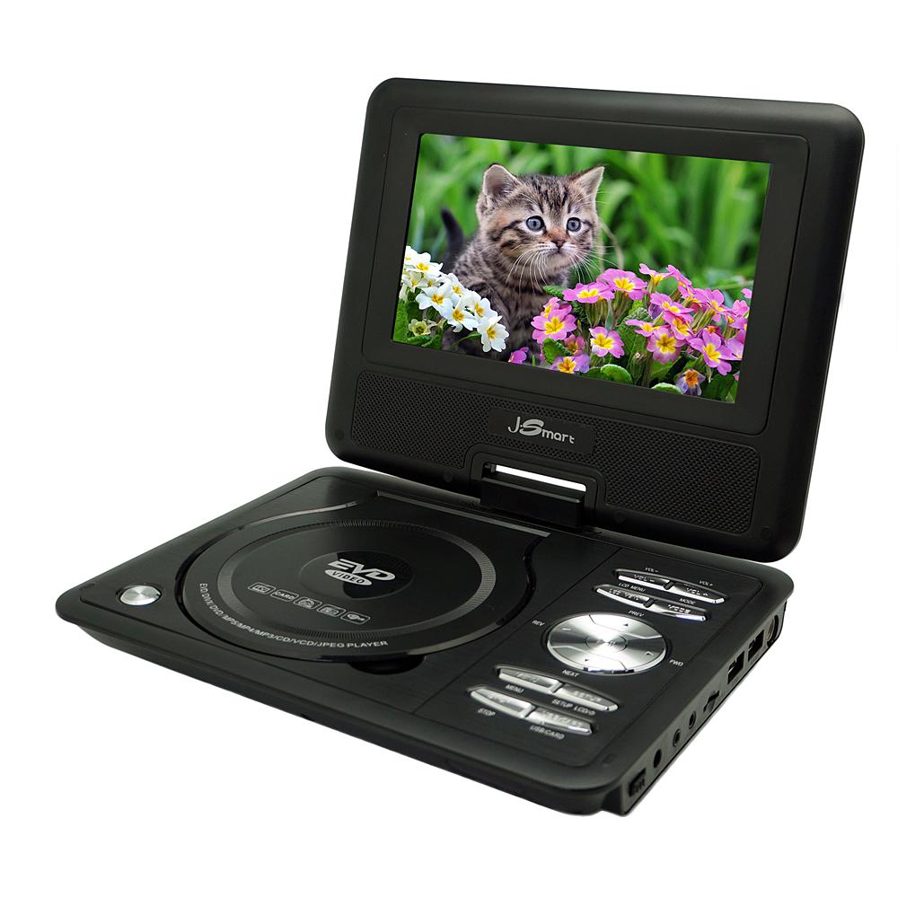 J-Smart 7.8吋 便攜式RMVB/DVD影音播放機 - 全格式高解析播放