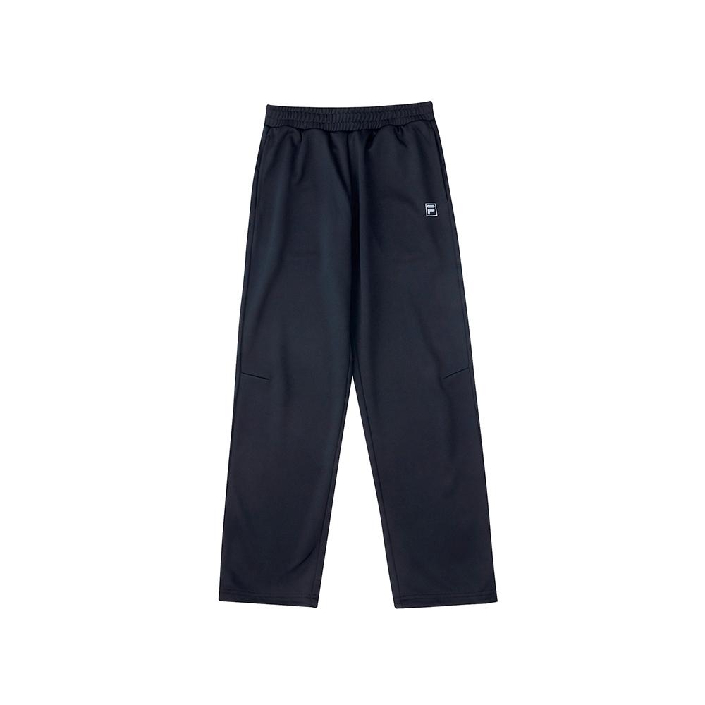 FILA KIDS 童吸濕排汗平口長褲-黑 1PNU-8305-BK