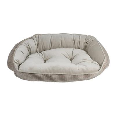 BOWSERS半月極適寵物睡床-小麥牛奶L