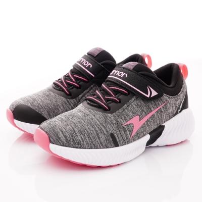 ARNOR時尚潮流鞋 超Q彈輕量跑鞋 NI8232活力粉(中大童段)