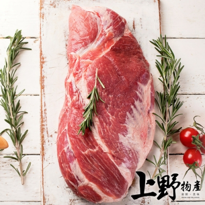 (烤肉任選899)上野物產 台灣嚴選金品松阪豬(200g土10%/包) x1包