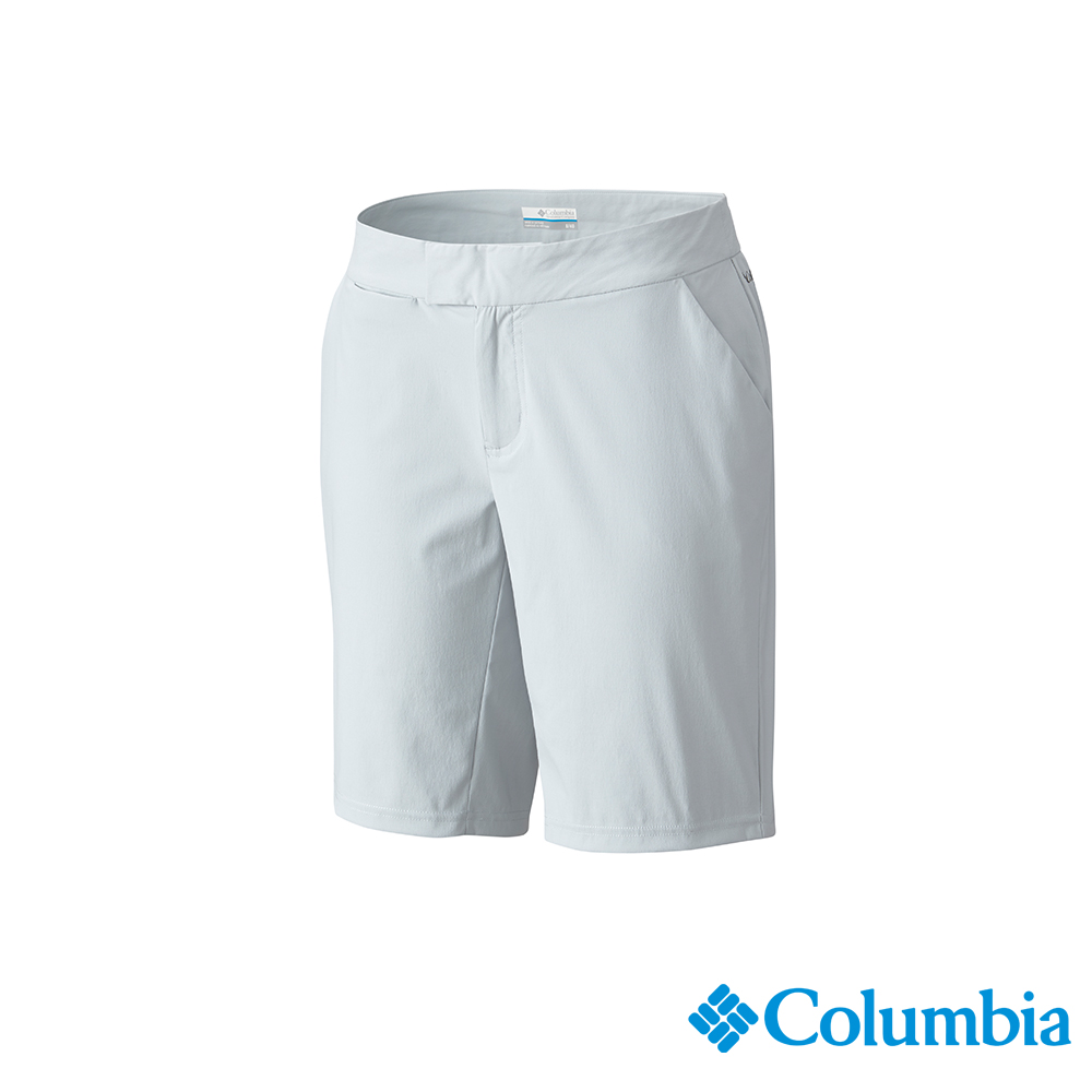 Columbia 哥倫比亞 女款-UPF50 防潑短褲-灰色 UFK00120GY