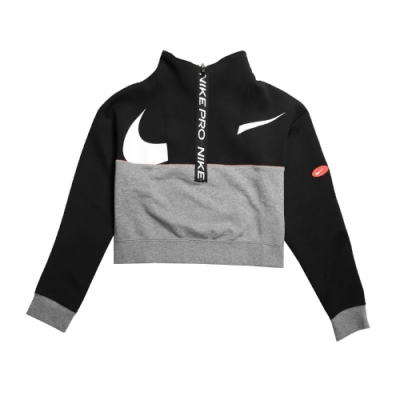 Nike 上衣 Icon Fleece Top 休閒 女款