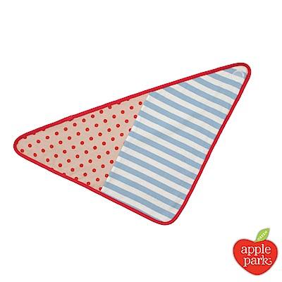 美國 Apple Park 農場好朋友系列 有機棉三角巾圍兜 - 拳師犬包哥