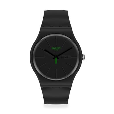 Swatch New Gent 原創系列手錶 NEUZEIT 火紅時代-41mm