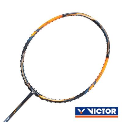 VICTOR 極速球拍-5U 螢光橘深藍